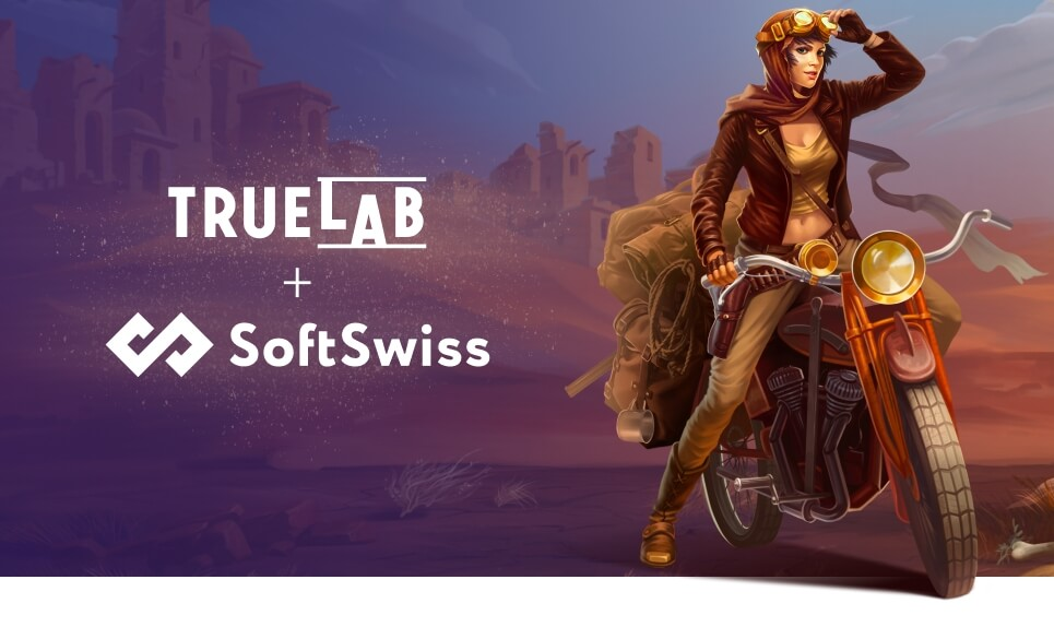 True lab partners with softswiss